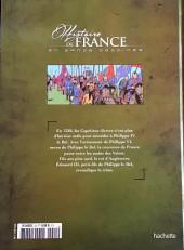 Verso de Histoire de France en bande dessinée -17- La guerre de Cent Ans les victoires anglaises 1337-1420