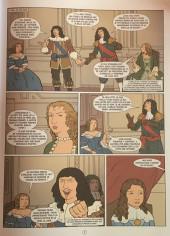 Verso de Histoire de France en bande dessinée -26- Louis XIV la Régence et la Fronde 1643-1661