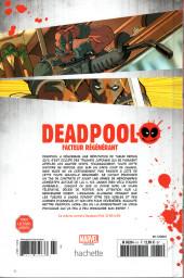 Verso de Deadpool - La collection qui tue (Hachette) -6116- Facteur régénérant