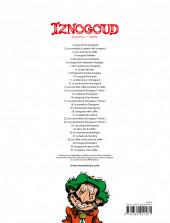 Verso de Iznogoud -31- Moi, calife...