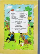 Verso de Tintín (Las Aventuras de) -9a1971- El Cangrejo de las pinzas de oro