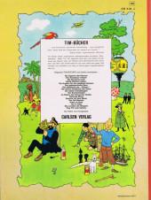 Verso de Tim und Struppi / Tim, der Pfiffige Reporter -9a1972- Die Krabbe mit den goldenen Scheren