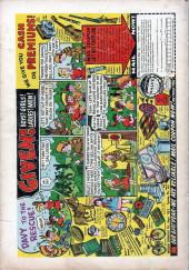 Verso de Action Comics (DC Comics - 1938) -216- The Super-Menace of Metropolis!