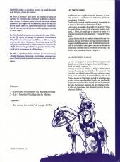 Verso de Blason d'Argent -4- Les 7 boucliers - La légende du marais