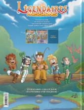 Verso de Les légendaires - Missions -2- La cérémonie des Kadals