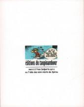 Verso de Le flagada -1a2005- Prenez garde au Flagada !