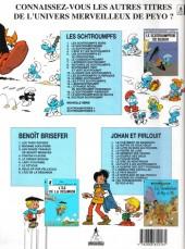 Verso de Les schtroumpfs -18- Docteur Schtroumpf