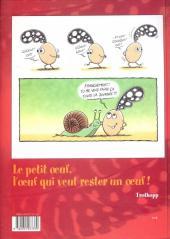 Verso de Le petit œuf -1- Tchao les poules !