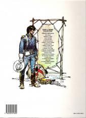 Verso de Blueberry (La Jeunesse de) -3b1989- Cavalier bleu
