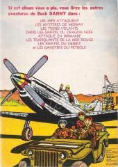 Verso de Buck Danny -3a1953- La revanche des fils du ciel