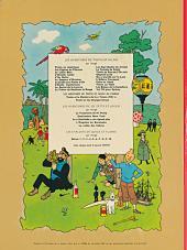 Verso de Tintin (Historique) -22B37- Vol 714 pour Sydney