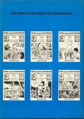 Verso de Bob Morane 5 (Deligne) -6- La Rivière de perles - La Couronne de Golconde