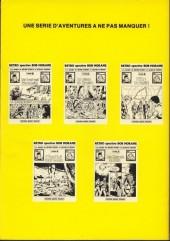 Verso de Bob Morane 5 (Deligne) -2- La Piste de l'ivoire