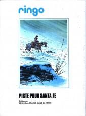 Verso de Ringo (Vance) -1a'- Piste pour Santa Fe