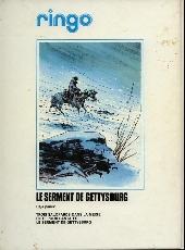 Verso de Ringo (Vance) -2a1980'- Le serment de Gettysburg