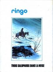 Verso de Ringo (Vance) -3'- Trois salopards dans la neige