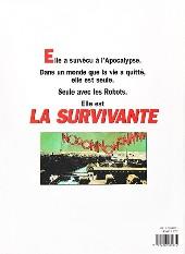 Verso de La survivante - Tome INT