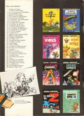 Verso de Spirou et Fantasio -39Pub- Spirou à New York