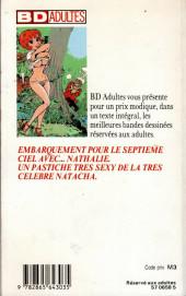 Verso de Nathalie la petite hôtesse -1Poch- Nathalie - La petite hôtesse