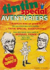 Verso de (Recueil) Tintin Super -1- Spécial policier