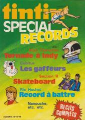Verso de (Recueil) Tintin Super -2- Spécial aventuriers