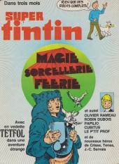 Verso de (Recueil) Tintin Super -10- Pirates