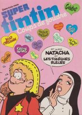 Verso de (Recueil) Tintin Super -19- Super-Héros