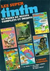 Verso de (Recueil) Tintin Super -37- Secret