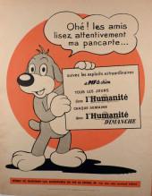 Verso de Pif le chien (1re série - Vaillant) -12- Pif 1re série n°12