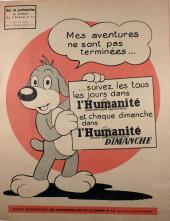 Verso de Pif le chien (1re série - Vaillant) -11- Pif 1re série n°11