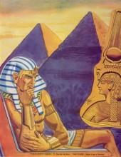 Verso de Les amours de l'histoire -1- La demoiselle du Nil - La reine radieuse - Cléobis