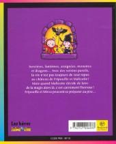 Verso de Fripouille et Malicette -2- La boule de cristal