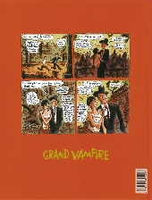 Verso de Grand vampire -6- Le peuple est un Golem