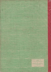 Verso de (Recueil) Spirou (Album du journal) -68- Spirou album du journal