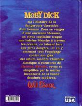 Verso de Moby Dick (Eisner) - Moby Dick
