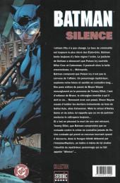 Verso de Batman : Silence -3- Silence 3