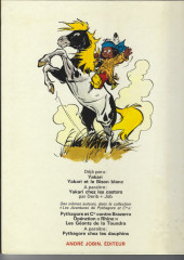 Verso de Yakari -2- Yakari et le bison blanc