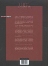 Verso de (AUT) Tibet -3- La fureur de rire