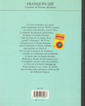 Verso de (AUT) Franquin -1a- Franquin / Jijé