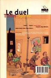 Verso de (DOC) Études et essais divers - Le duel Tintin-Spirou