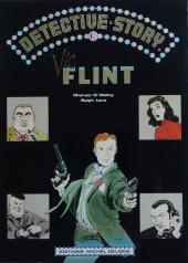 Verso de Detective story - Vic Flint