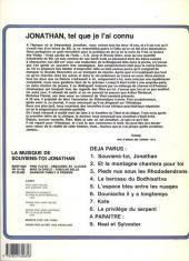 Verso de Jonathan -1a1982- Souviens-toi, Jonathan...