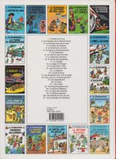 Verso de Le scrameustache -1ES- L'héritier de l'Inca