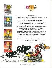 Verso de Joe Bar Team -4pub- Tome 4