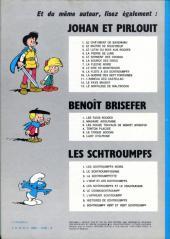 Verso de Johan et Pirlouit -8b75- Le sire de Montrésor