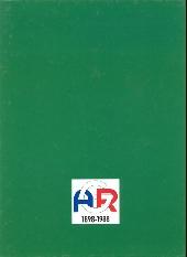 Verso de L'avant-garde du Rhin - 90 ans d'Histoire