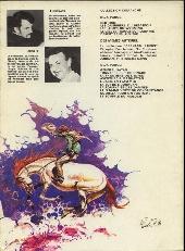 Verso de Comanche -6'- Furie rebelle