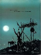 Verso de L'indien français -2- La lune enterrée