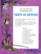 Verso de Robert et Bertrand -11- La capuche écarlate