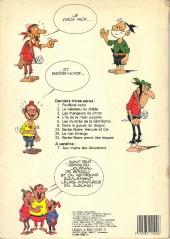 Verso de Le vieux Nick et Barbe-Noire -6b1984- Dans la gueule du dragon